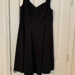 Sleeveless torrid dress.